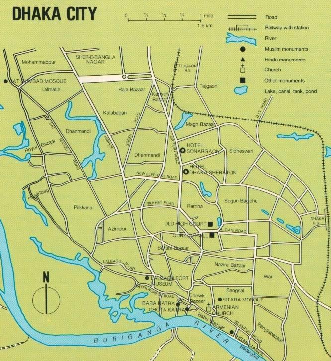 Introduction Dhaka - Map of dhaka division bangladesh